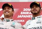 Rosberg está melhor que Hamilton e merece ser campeão, defende Massa - Clive Mason/Getty Images