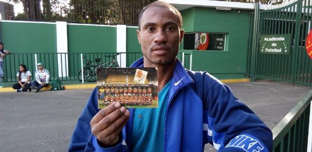 Claudinho fez plantão na Academia de Futebol para reencontrar Zé Roberto