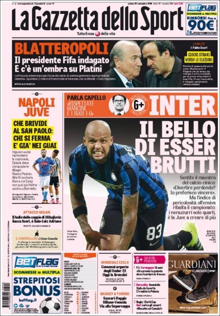 Gazzetta dello Sport (Itália):