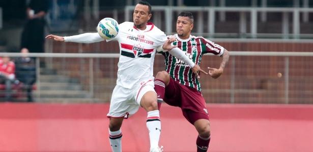 Luis Fabiano tem contrato até o fim da temporada com o São Paulo