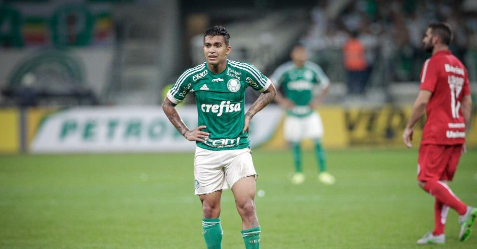 Dudu teve boa atuação diante do Internacional pela Copa do Brasil