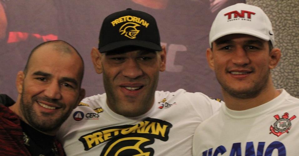 Glover Teixeira, Pezão e Cigano são os representantes do Brasil no UFC 160