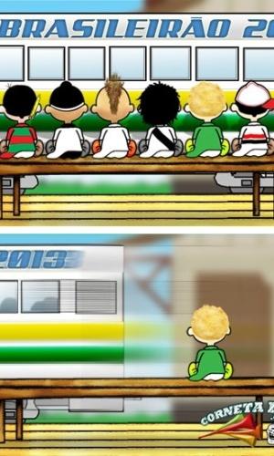 Corneta FC: Palmeiras vê rivais embarcando no Campeonato Brasileiro
