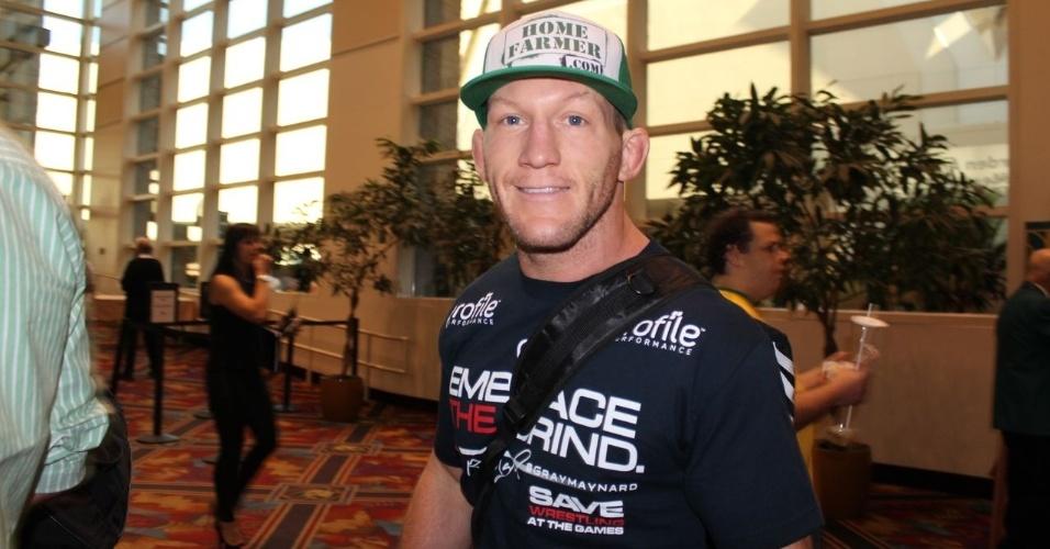 25.mai.2013 - Gray Maynard antes de sua luta no UFC 160