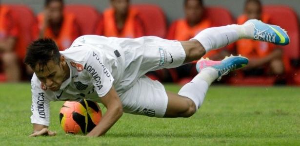 Despedida de Neymar foi amargo empate sem gols