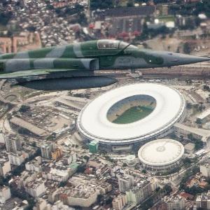 na Copa das Confederações: Força Aérea pode abater aviões sem pedir a Dilma na Confederações-2013