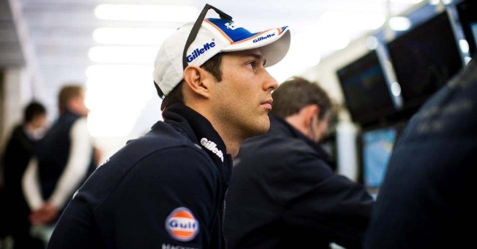 06.jun.2013 - Bruno Senna disputa o Mundial de Endurance pela Aston Martin, escuderia que completa 100 anos em 2013