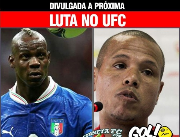 Corneta FC: Quem venceria uma luta entre Balotelli e Luis Fabiano?