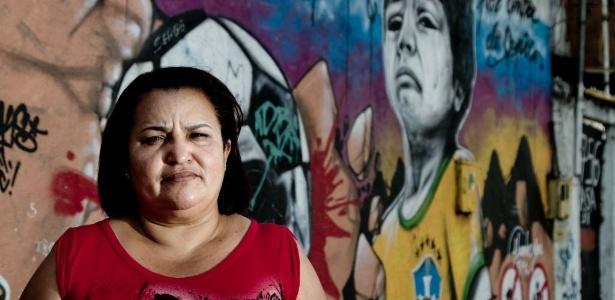 Francicleide Souza, líder de la comunidad en Metro Mangueira, una de las zonas afectadas por las mudanzas