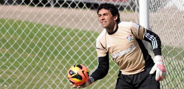 Ricardo Berna passou oito anos no Fluminense e defenderá o Náutico no Brasileirão