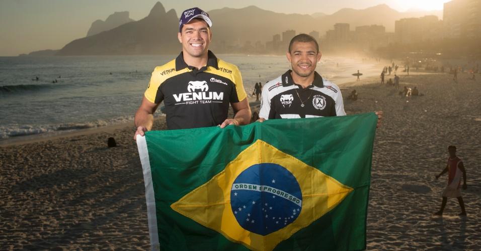 Os brasileiros Lyoto Machida e José Aldo são as estrelas do UFC Rio 4