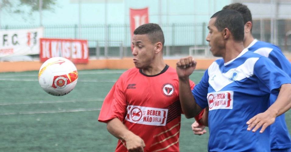 Série B: Riachuelo (azul), do Jardim Brasil, vence União, do Pq. Edu Chaves, por 1 a 0 e se classifica para a segunda fase com 100% no Grupo N-7