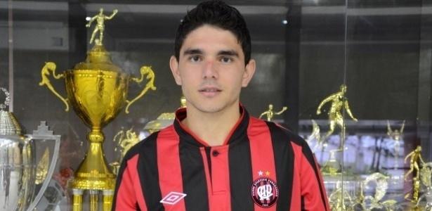 Atacante Pedro Gusmão do Atlético-PR (17/06/2013)