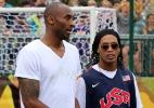 Kobe diz quando ouviu falar pela 1ª vez de Messi. E foi graças a Ronaldinho - Fernando Maia/UOL