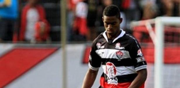 Dankler, zagueiro que pertencia ao Vitória e foi contratado pelo Botafogo