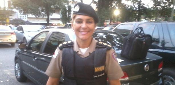 Coronel Claudia, comandante da Polícia Militar em Belo Horizonte, virou protagonista das manifestações