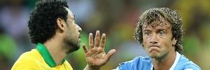 Brasil 2 x 1 Uruguai: Lugano ironiza nota da CBF sobre suas críticas às simulações de Neymar: Estavam sensíveis