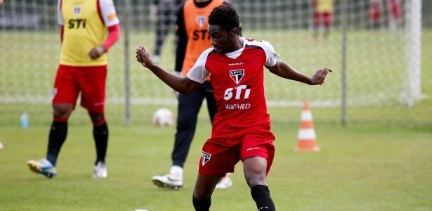 Negueba se destacou em jogo-treino do São Paulo nesta terça