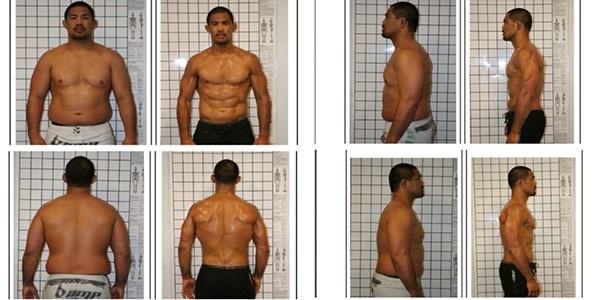 A transformação de Mark Muñoz: lutador chegou a pesar 118 kg durante depressão