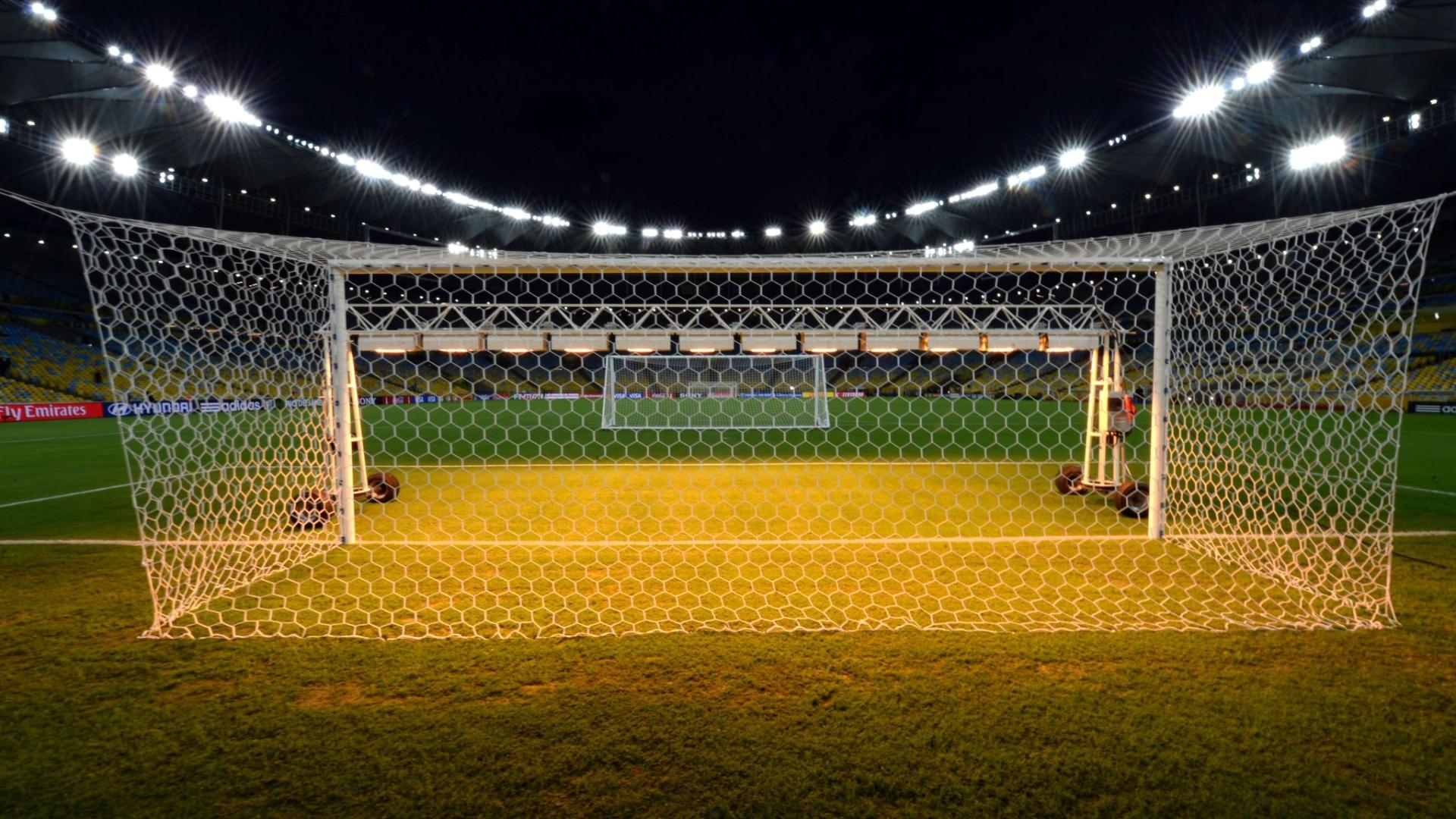 Maracanã ganha iluminação especial
