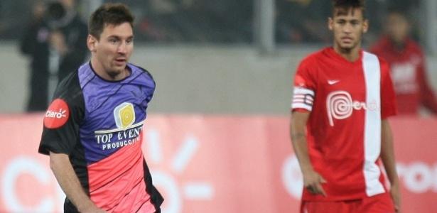 Messi disputou um amistoso no Peru na última terça-feira