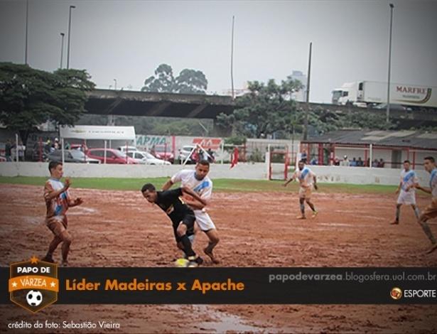 Líder Madeiras x Apache
