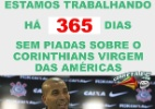 """Corneta: Há um ano Corinthians não pode mais ser chamado de """"virgem das Américas"""""""