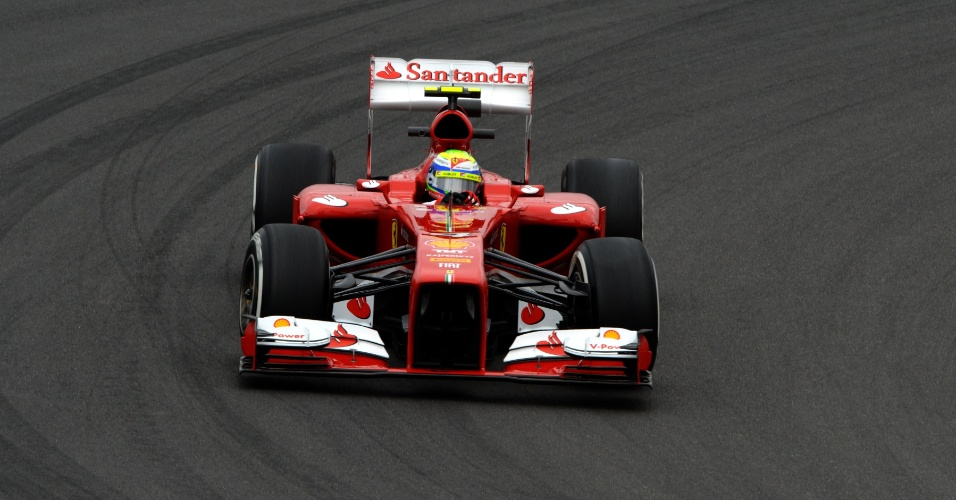 05.jul.2013 - Brasileiro Felipe Massa fica em sexto no primeiro treino livre para o GP da Alemanha