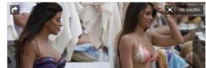 Na Europa: Mulher de Messi curte praia em Ibiza enquanto craque faz turnê de partidas pela América