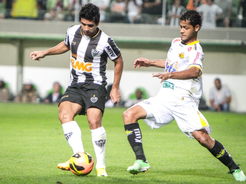 Guilherme durante a vitória do Atlético-MG sobre o Criciúma, por 3 a 2, pelo Brasileirão (7/7/2013)
