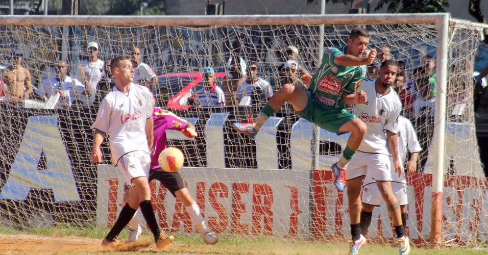 Leões da Geolândia e Inajar de Souza empataram por 2 a 2 neste domingo pela Copa Kaiser