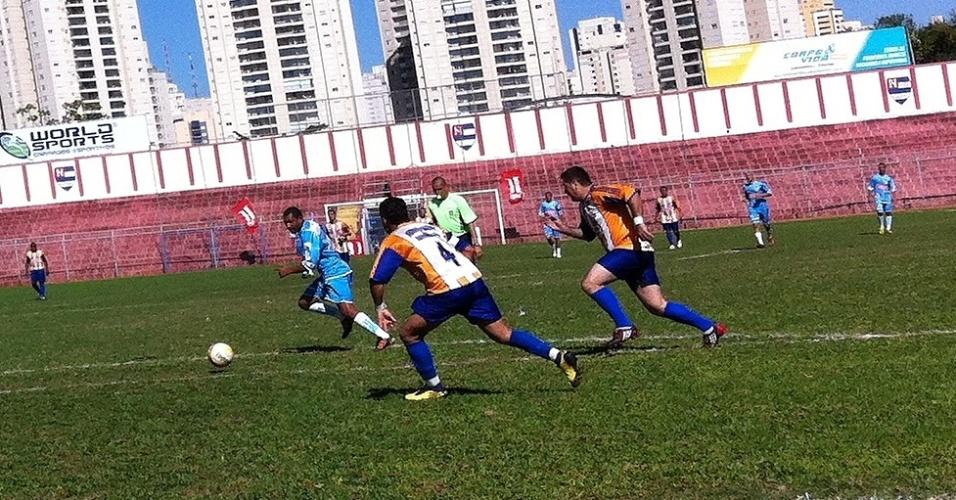 Napoli, da Vila Industrial, venceu o Meninos Unidos do Laranjeiras por 3 a 1