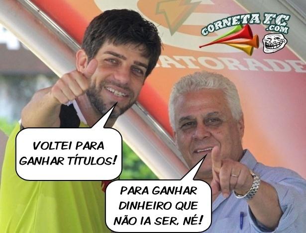 Corneta FC: Juninho relembra dura realidade do Vasco