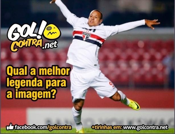 Corneta FC: Sugira uma legenda para a foto de Luis Fabiano
