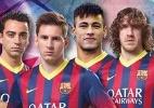 Em alta: Neymar desbanca Iniesta em cartaz do Barcelona