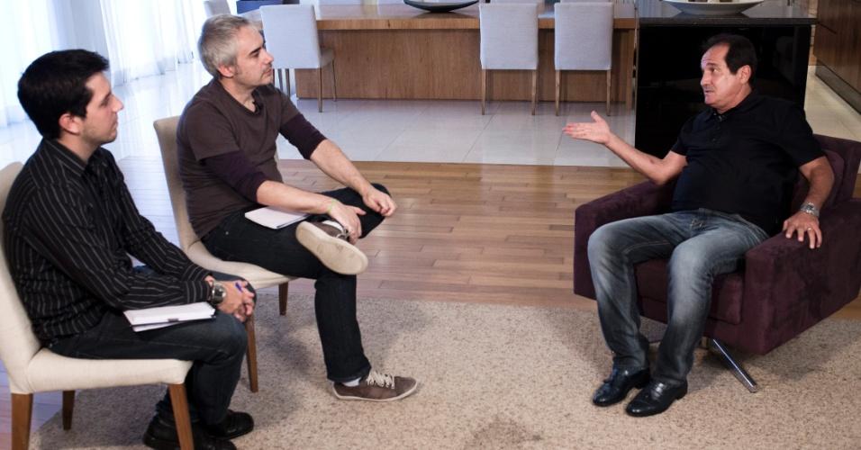 17.jul.2013 - Muricy em entrevista ao UOL Esporte