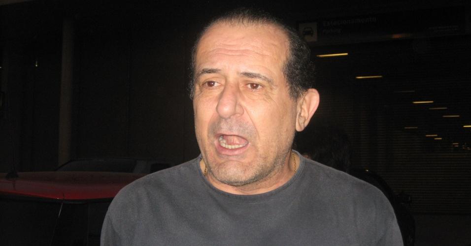 24 jul 2013 - Fred Couto, conselheiro do Atlético-MG, e candidato derrotado por Alexandre Kalil em 2011, chega ao Mineirão