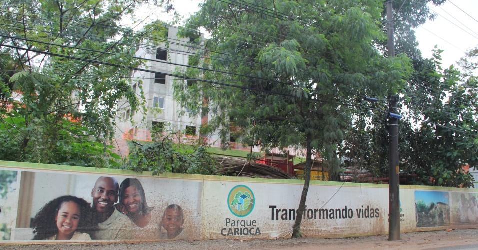 Obra do Parque Carioca é uma iniciativa do Prefeitura do Rio e do governo federal