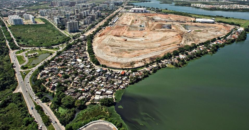 Vila Autódromo será removida pela prefeitura para dar lugar às obras do Parque Olímpico