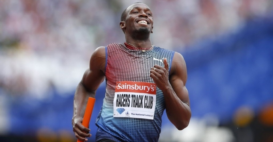 Com Bolt, Jamaica ignora desfalques e vence revezamento 4x100 m na Diamond League