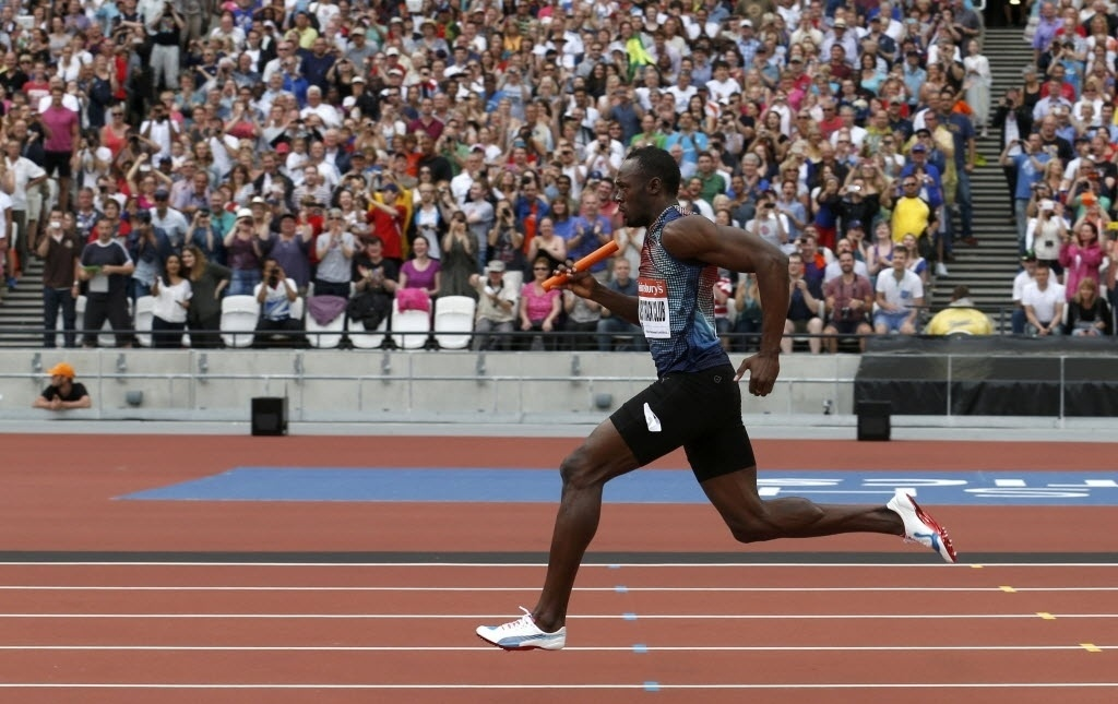 Com Bolt, Jamaica ignora desfalques e vence revezamento 4x100 m na Diamond League