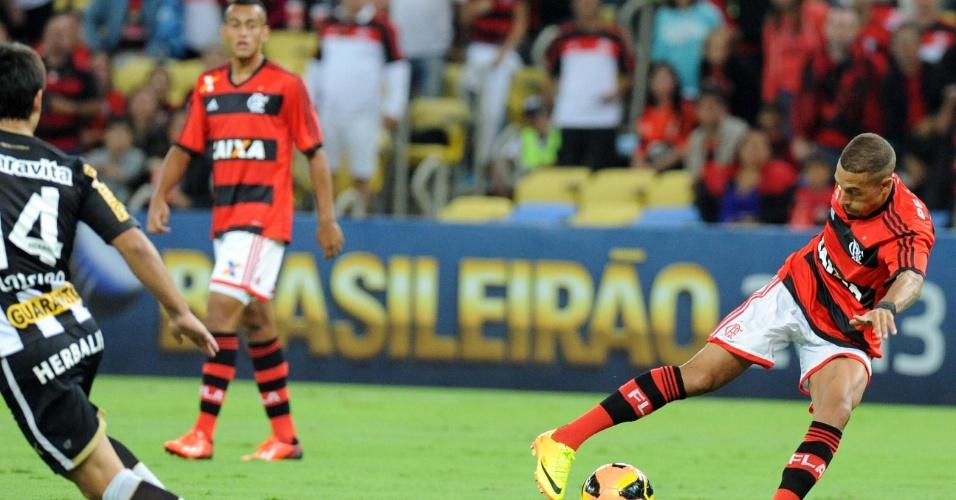 Flamengo foi para o ataque no fim da partida em busca do empate