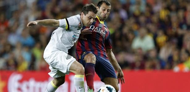 Amistoso contra o Barcelona, no começo do mês, gerou problemas no calendário do Santos