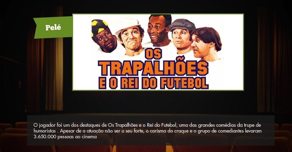 06.ago.2013- Pelé Os Trapalhões