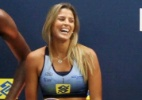 Musa do vôlei : Mari Paraíba volta a atuar de modelo e desfila uniformes