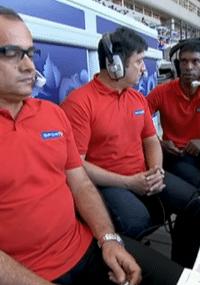 Troféu da TV: Queda do bastão gera revolta em comentaristas