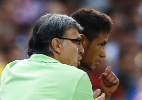"""Técnico da Argentina exalta Neymar e faz previsão: """"será o melhor do mundo"""" - REUTERS/Juan Medina"""