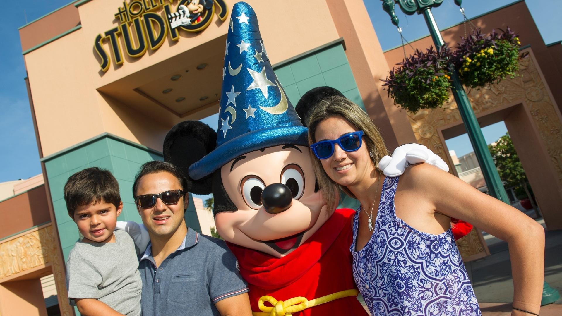 Felipe Massa na Disney