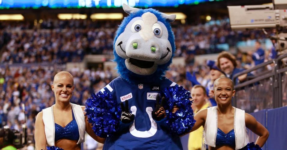 Blue Mascote