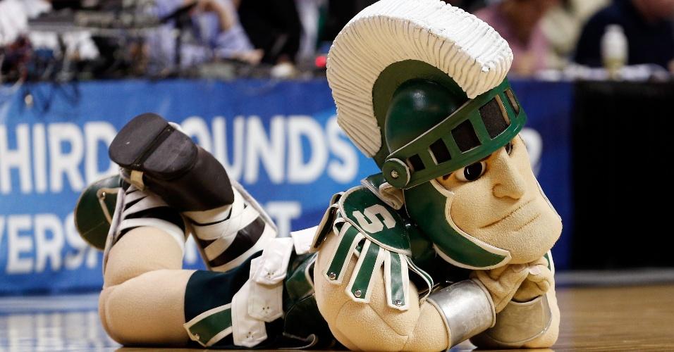 Sparty mascote